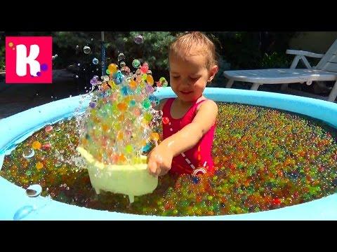 Как сделать растущие игрушки в воде