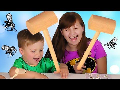 CHELLENDZH-ATAKA-MOSKITOV-CHellendzhi-Razvlechenie-Dlya-Detej-Challenge-Game-entertainment-for-children