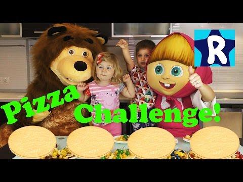 Masha-i-Medved-PITSTSA-CHELLENDZH-ot-Roma-SHou-Masha-and-the-Bear-Compilation-Pizza-Challenge