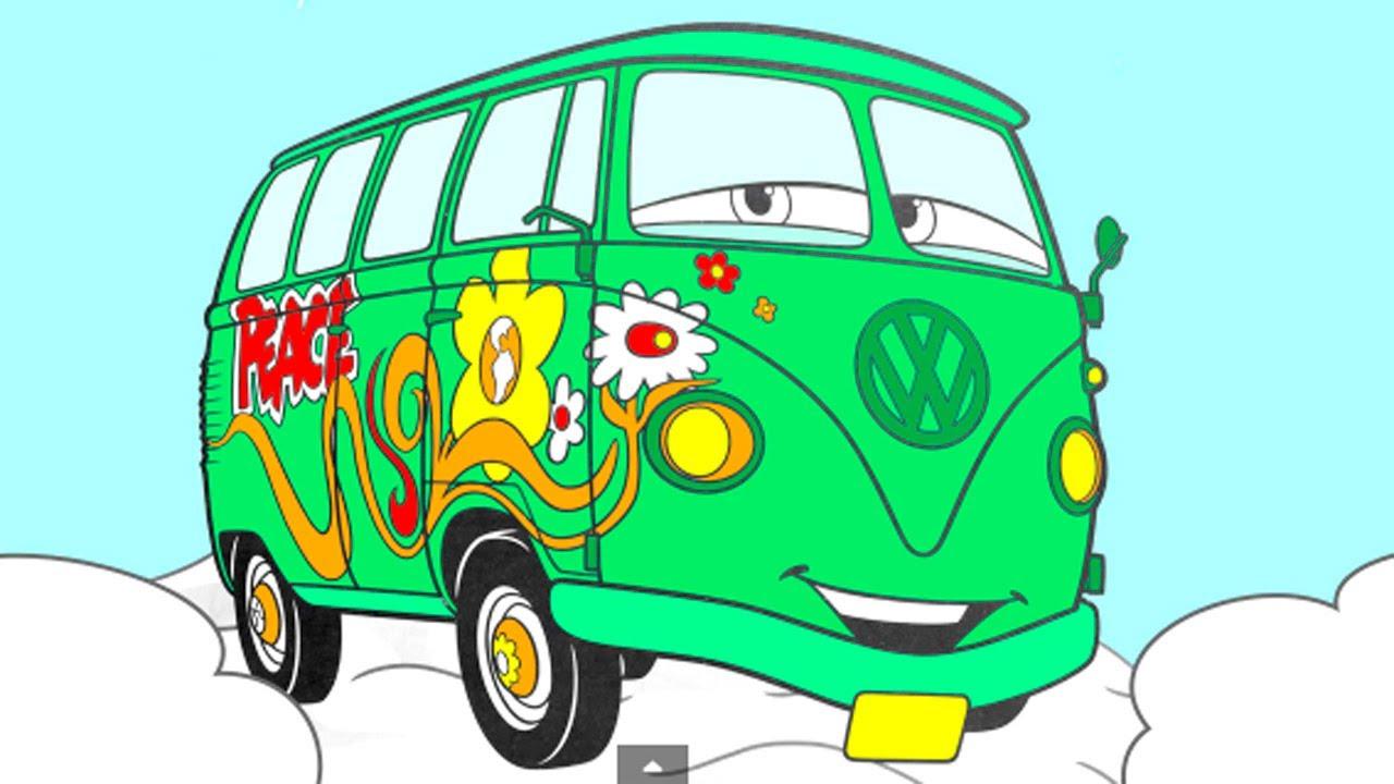 Раскраска из Мультфильма Тачки (Pixar Cars) — развивающий ...