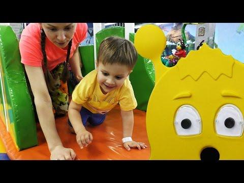 VLOG-1-God-Kanalu-Kids-Roma-Show-Park-Razvlechenij-v-Den-Rozhdeniya-Amusement-Park-in-the-Birthday