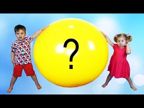 ZVEROPOLIS-Super-SHar-s-Igrushkami-Zootopia-GIANT-Balloon-Surprise-Toys-unboxing-Roma-Show