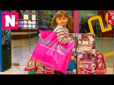 Dom-igrushek.-Shopping.-ZHvachka-dlya-ruk-Peppa-Pig-Poli-Robocar-House-of-toys.-Gum-for-hands