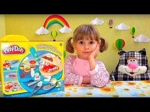 Dr.-Drill-n-Fill-unboxing-Play-Doh-set-Play-doh-Mister-zubastik-plej-do-raspakovka