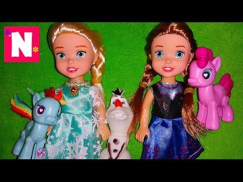Kukly-Frozen.-MLP.-My-little-pony.-FROZEN.-Kukly-Anna-i-Elza