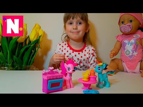 My-Little-Pony-Pinky-Pie-Baby-Born.-Bebi-Born.-Pinki-Paj-nabor-Maj-litl-poni