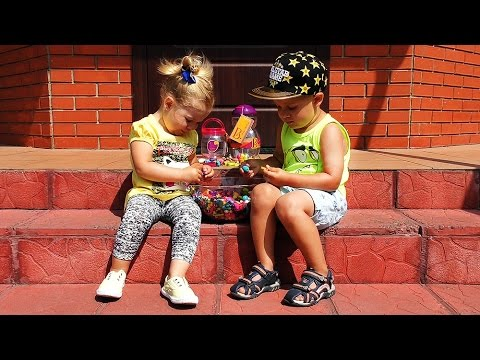 SAMYE-DLINNYE-V-MIRE-BUSY-BATAT-Igrushki-Dlya-Detej-Unboxing-new-toys-Battat-video-toy-for-children
