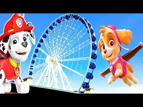 VLOG-KOLESO-OBOZRENIYA-Kids-euro-show10-chertovo-koleso-Ferris-wheel-Park-attraktsionov-Amusement-park