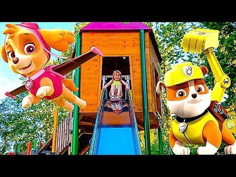 Germaniya-1-SHHenyachij-Patrul-Pitstsa-Skaj-i-Nastyushik-na-detskoj-ploshhadke-Gorki-labirint