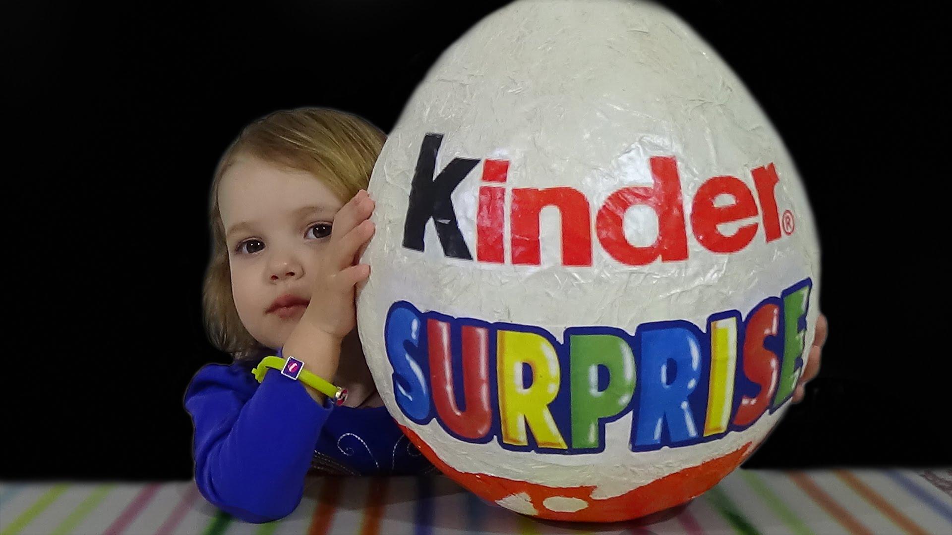 Большое яйцо киндер сюрприз своими руками из бумаги