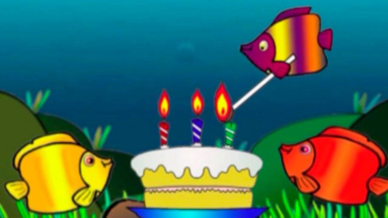 картинки мультики с днем рождения