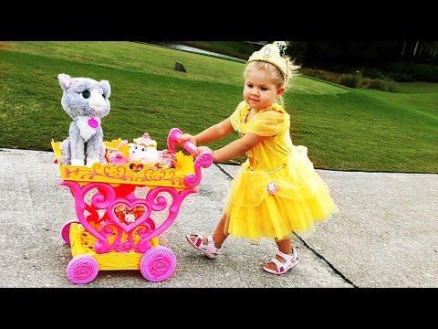 PRINTSESSA-Disneya-Bell-Printsessy-Belle-Disney-Princess-Play-Toys-Igry-dlya-Devochek