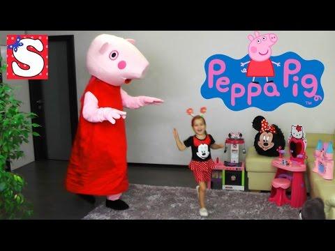 Svinka-Peppa-IGRAEM-VMESTE-Feya-Prevrashhenie-Svinka-Peppa-na-Russkom-2016-Peppa-Pig-toys