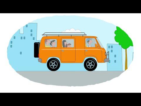 Мультики про машины раскраски теремок тв