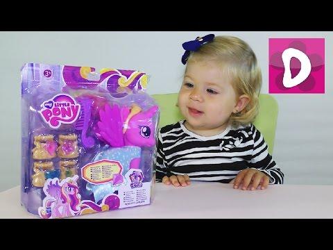 Poni-My-Little-Pony-Princess-Cadance-Raspakovka-Printsessa-Kadens-Maj-Litl-Poni-Moj-Malenkij-Poni