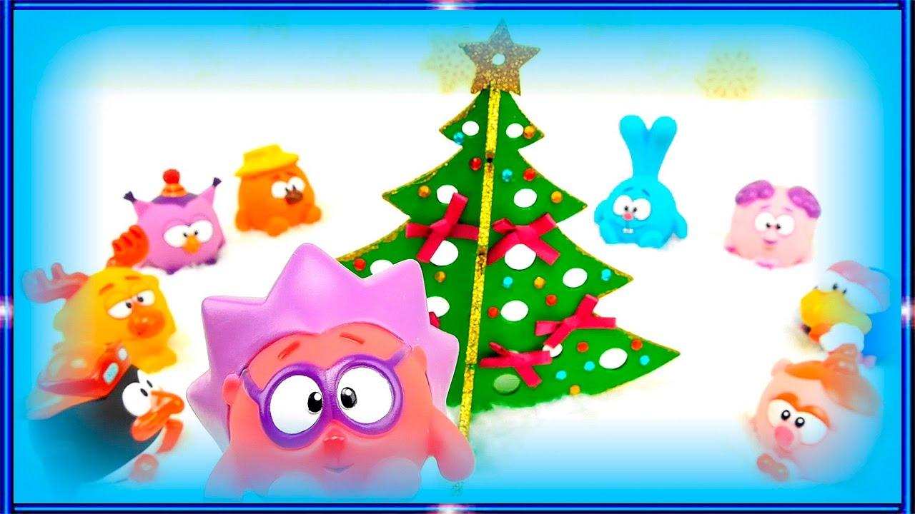 Смотреть мультики про новый год для маленьких