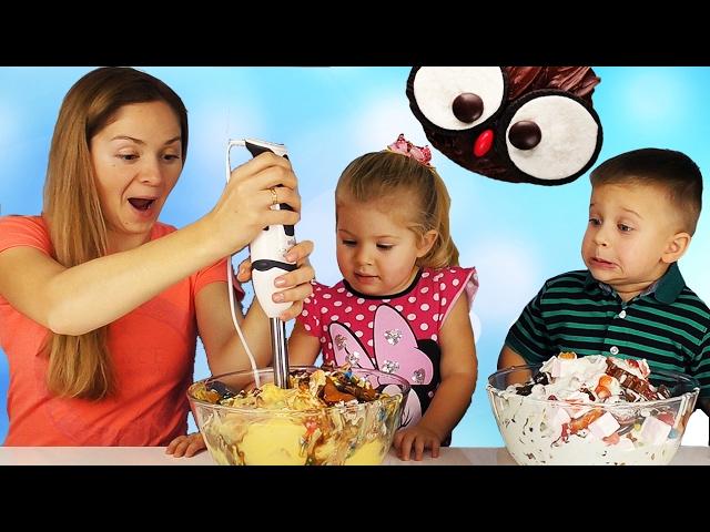 Bad-Baby-MOROZHENOE-CHellendzh-2-DELAEM-SMUZI-Vrednye-Detki-BAD-BABY-GIANT-ICE-CREAM-CHALLENGE-Smoothie