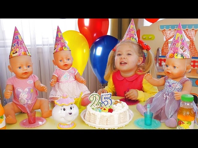 Видео подарок на день рождения кукла