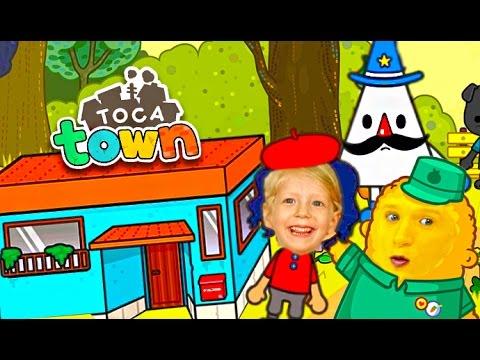 Igrovoj-multik-pro-semyu-v-gorode-Toca-Town-ZHizn-v-gorode-Razvlekatelnoe-detskoe-video