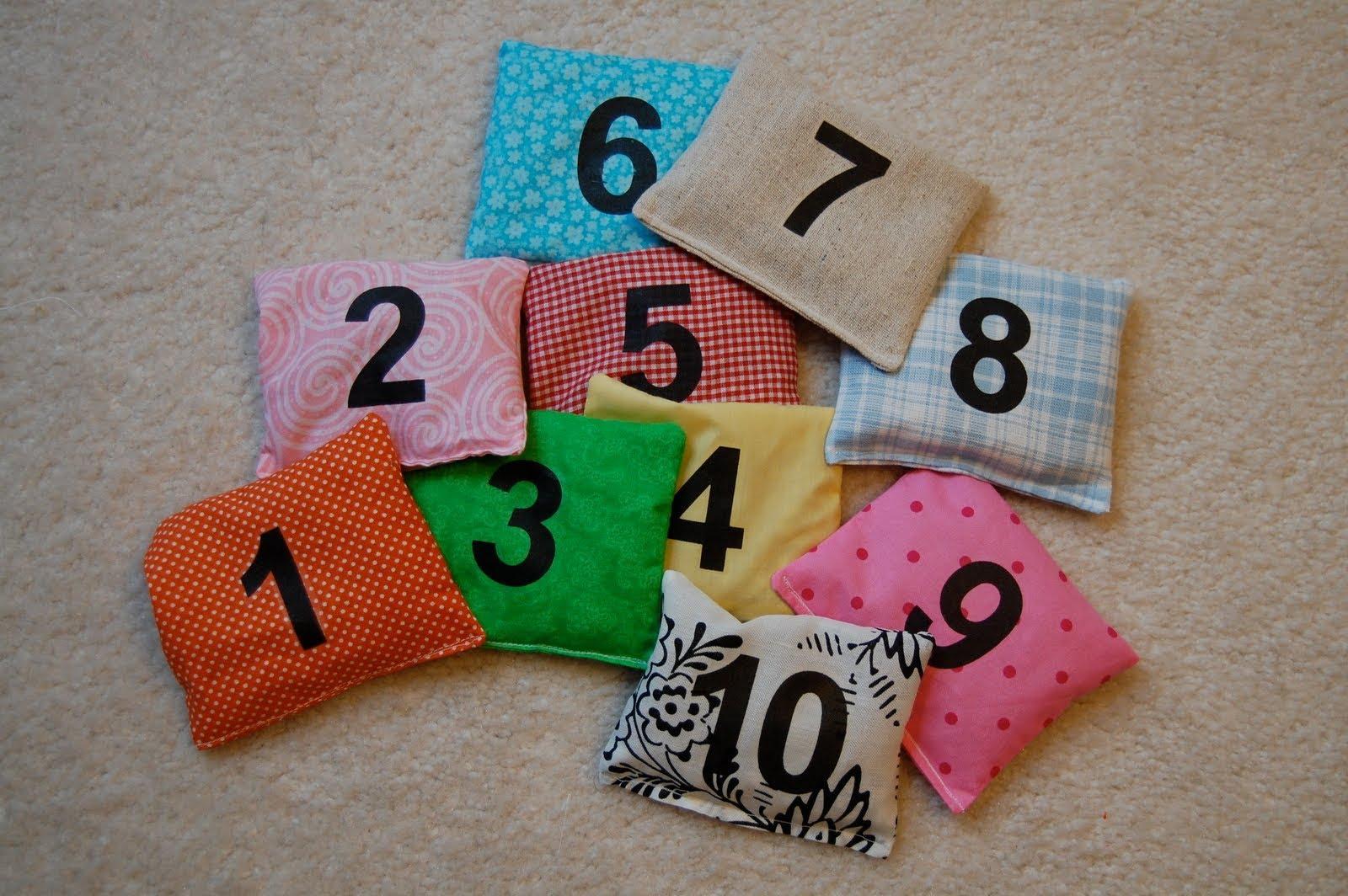 Цифра подушка своими руками