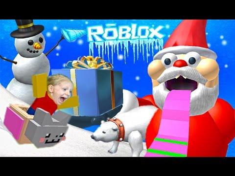 Priklyuchenie-mult-igry-ROBLOX-zimnij-period-Roblox-Escape-Santa-Obby-Detskie-igry-ot-kanala-ffgtv