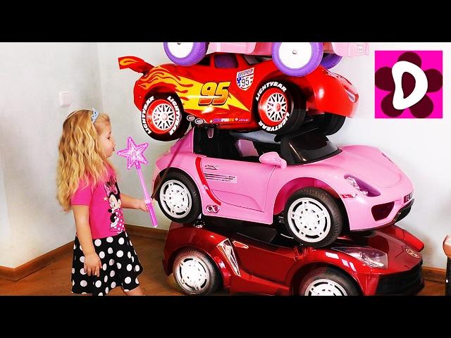 Bad-Baby-PREVRASHHENIE-Avtoparka-v-BASHNYU-Vrednye-Detki-Magic-Little-Driver-on-Power-Wheels-Cars