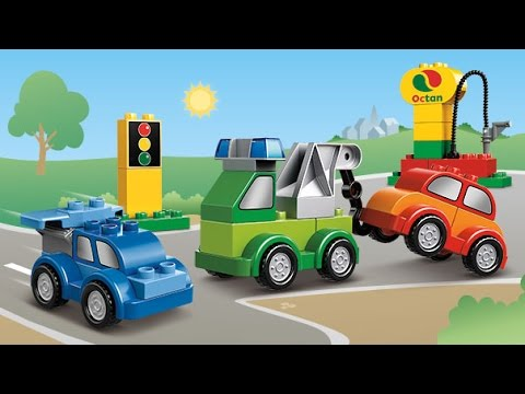 Multfilmy-Lego-transport-Multiki-pro-mashinki-v-gorode-Lego-Video-dlya-detej-Vse-mashinki-Lego-Duplo