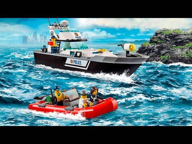 мультик полицейская лодка