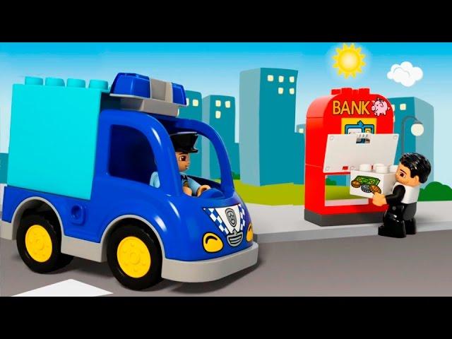 Multiki-pro-mashinki-Mashinki-Pomoshhniki-v-gorode-Lego-Politsejskaya-mashina-Skoraya-pomoshh-Evakuator