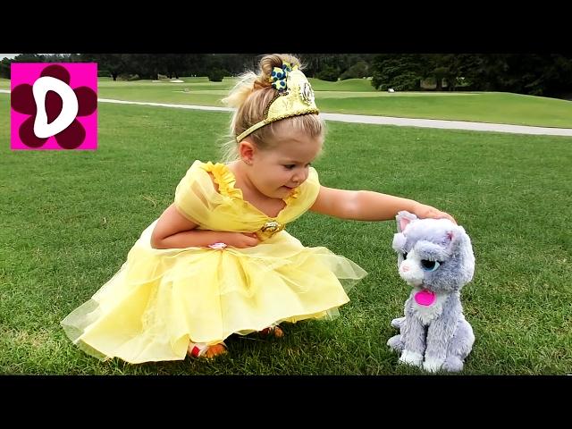 PRINTSESSY-v-Realnoj-ZHizni-Ariel-Sofiya-Bell-Sbornik-Video-dlya-Detej-Disney-Princess-in-real-life