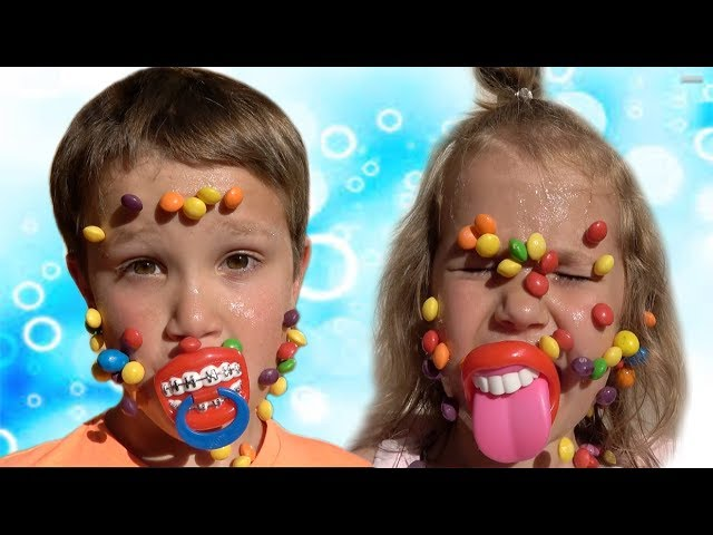 Candy-CHELLENDZH-Ochen-MNOGO-konfet-VYIGRALI-v-AVTOMAT-MMs-VS-Skittles-Haribo-VS-Chupa-Chups