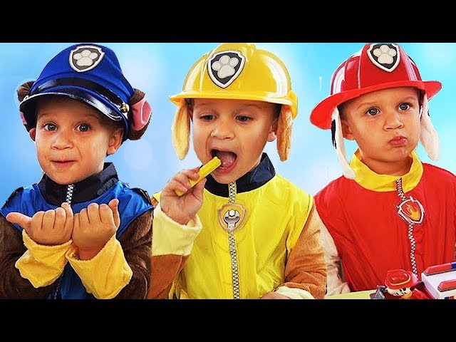 Learn-Colors-PAW-Patrol-Chase-Marshall-Skye-The-Finger-Family-Song-for-kids