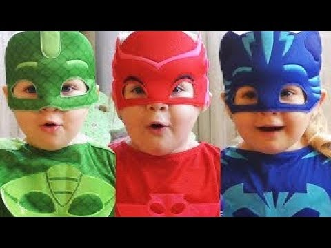 Pj-masks-Learn-Colors-with-JOHNY-JOHNY-Yes-Papa-Song-Nursery-Rhymes-for-Children-Toddlers-Babies
