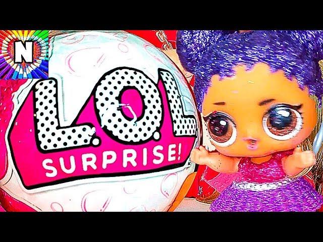 GIANT-LOL-Surprise-SBORNIK-ZOLOTOJ-SHARKukly-LOL-Bolshoj-Zolotoj-SHar-LOL-Dolls-Raspakovka-Igrushek