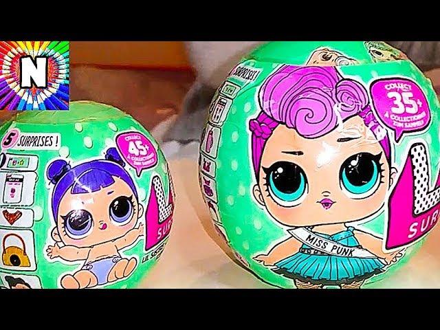 LOL-Dolls-KUKLY-LOL-Pupsiki-Syurprizy-Raspakovka-Igrushek-GIANT-LOL-Surprise