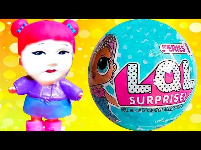 LOL-Syurprizy-ORIGINAL-i-kitajskie-PODDELKI-Odin-sharik-s-kukloj-Fake-LOL-Dolls-Surprise-Nastyushik-Kukl