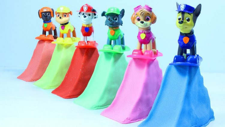 Kinetic-Sand-Slides-and-Paw-Patrol-Count-Numbers-Learn-Colors