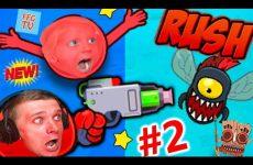 Krutye-PRIKLYUCHENIYA-KRASNOGO-SHARIKA-RED-ball-Rush-2-detskij-letsplej-ot-FFGTV-papa-i-Milana-igrayut