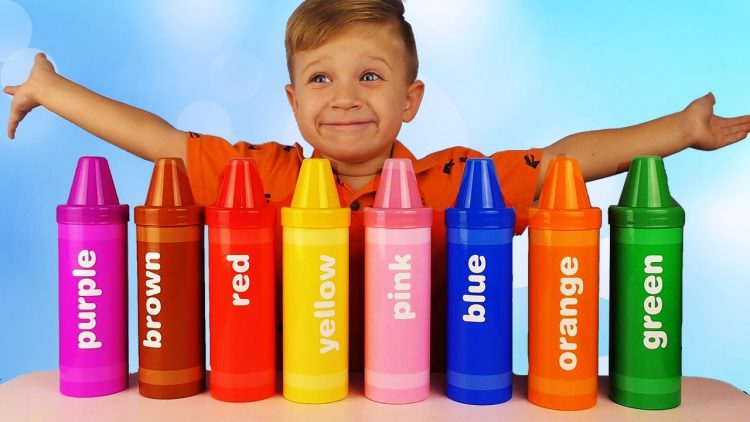 Learn-colors-with-Crayons-sorting-surprises-Rainbow-Pencil-surprises-and-toys-Learning-Resources