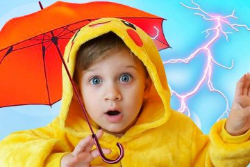 Roma-pretend-play-with-color-Umbrellas-Learn-colors-and-Nursery-Rhymes-for-children
