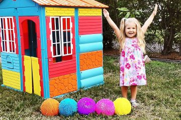 Diana-plays-with-color-balls-Video-for-children-with-Kids-Diana-Show