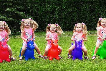 Five-Little-Babies-Sitting-on-the-Donkeys-5-little-Monkeys-Jumping-on-the-bed-Nursery-Rhyme-Songs