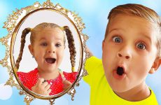 Roma-Diana-and-Magic-Mirror-Kids-pretend-play-videos-for-children