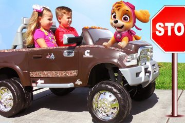Roma-and-Diana-Pretend-Play-with-Paw-Patrol-Toys-Video-for-Kids