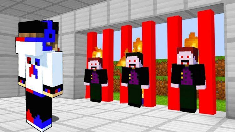 Lovushka-na-Vampira-2-Majnkraft-Vyzhivanie-Mod-Mody-Video-Multik-dlya-detej-v-Majnkrafte-Horror-Karty