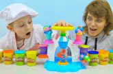 MOROZHENOE-Play-Doh-i-Danik-Vesyoloe-video-dlya-detej-PLEJ-DO-KUHNYA