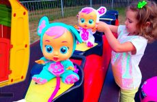 Katy-Pretend-Play-with-Baby-DOLL-and-REBORN-for-kids-Funny-video-Compilation