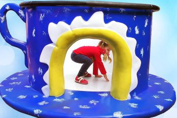 Outdoor-Playground-Fun-for-Children-Activities-with-Diana-Baby-shark-songs-for-kids