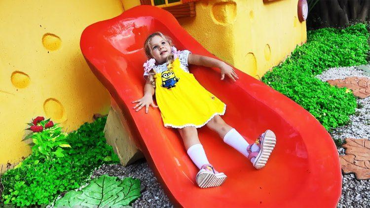 Igra-Najdi-Frukt-Roma-i-Diana-Kto-Bystree-Fun-Play-time-with-Roma-and-Diana