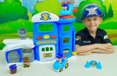 Politsejskij-uchastok-dlya-detej-Politsejskij-Danik-i-sbezhavshij-GRABITEL-Police-Station-for-Kids